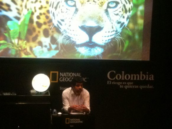 Colombia de Cine… National Geographic Store, Madrid 6 de Junio 2012